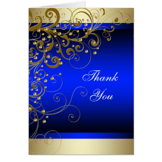 Königsblau-Gold danken Ihnen Karten