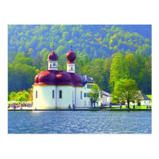 Königsee St. Bartholomä Postkarte