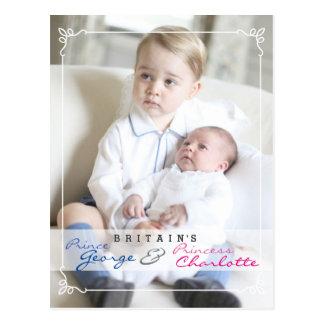 Königskinder - George u. Charlotte Postkarte