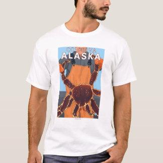 Königskrabbe-Fischer - Cordova, Alaska T-Shirt