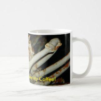 Königskrabbe wenig mürrisch ohne meinen Kaffee Kaffeetasse