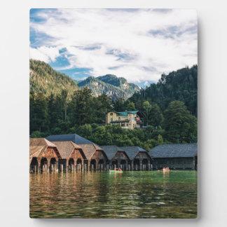 Konigssee, See der Könige. Deutschland Fotoplatte