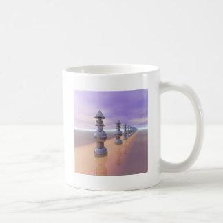 Konische geometrische Weiterentwicklung Kaffeetasse