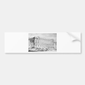 Konjushennyj Museum durch Vasily Sadovnikov Autoaufkleber