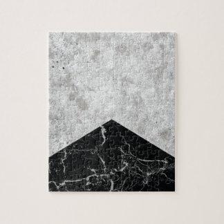 Konkreter Pfeil-Schwarz-Granit #844 Puzzle