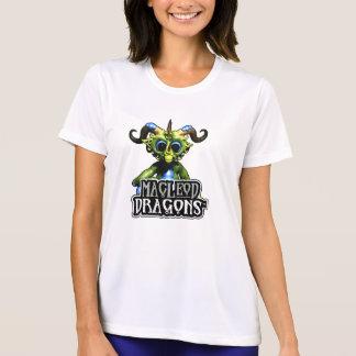 Konkurrent T Sport-Tek grüner Drache MD, weiß T-Shirt
