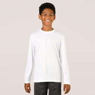 Konkurrenten-langer Hülsen-T - Shirt der Sport-Tek