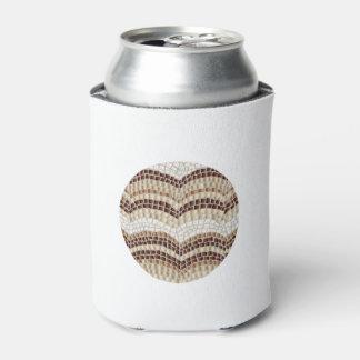 Können Sie cooler mit beige Mosaik Dosenkühler