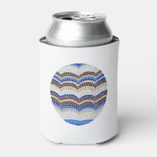 Können Sie cooler mit blauem Mosaik Dosenkühler