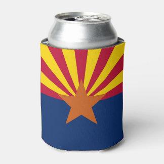 Können Sie cooler mit Flagge von Arizona-Staat, Dosenkühler