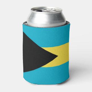 Können Sie cooler mit Flagge von Bahamas Dosenkühler