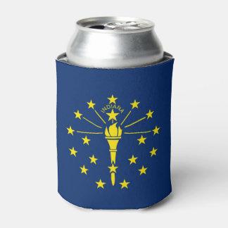 Können Sie cooler mit Flagge von Indiana-Staat, Dosenkühler