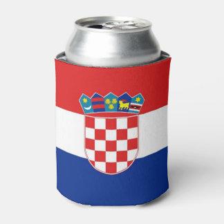 Können Sie cooler mit Flagge von Kroatien Dosenkühler
