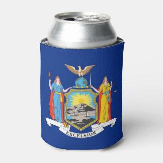 Können Sie cooler mit Flagge von New- YorkStaat, Dosenkühler