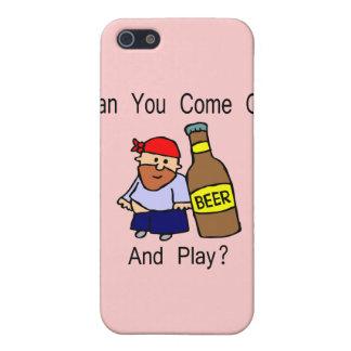 Können Sie herauskommen und Spiel? iPhone 5 Cover