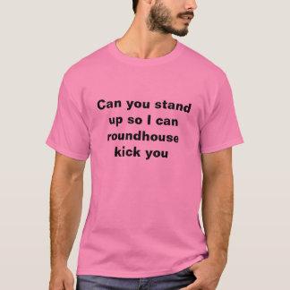 Können Sie oben stehen, also kann ich T-Shirt