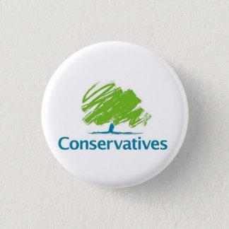 Konservativ-Logo Runder Button 2,5 Cm