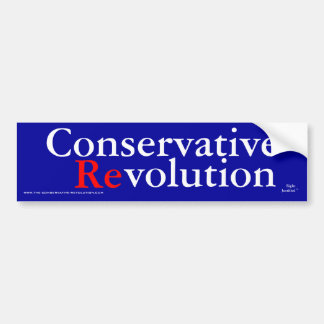 Konservative Revolution 2009 Autoaufkleber