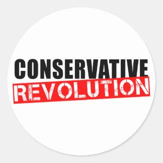 Konservative Revolution Runder Aufkleber