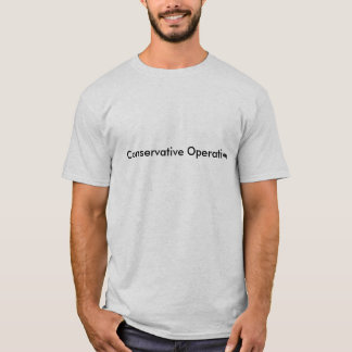 Konservativer Arbeiter T-Shirt