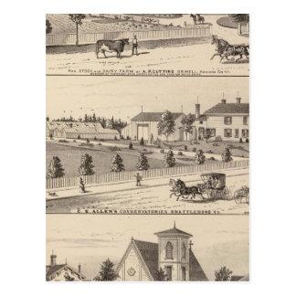 Konservatorien und Schule Postkarte