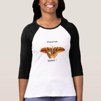 Konserve, recyceln, stützen T-Stück der Zweiton T-Shirt