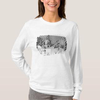 Konservieren Sie die Werkstatt, graviert durch T-Shirt