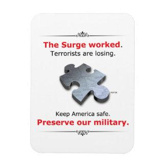 Konservieren Sie unser Militär Magnet