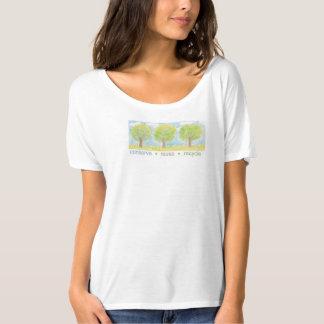 Konservieren Sie, verwenden Sie wieder, bereiten T Shirt