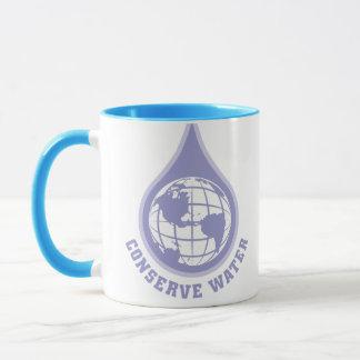 Konservieren Sie Wasser Tasse