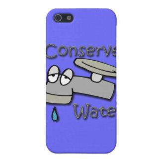 Konservieren Sie Wasser-tropfendes Hahngrau Etui Fürs iPhone 5
