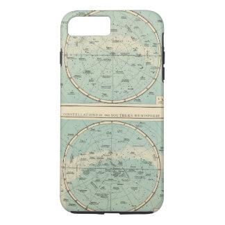Konstellationen, Sonnensystem, Mond iPhone 8 Plus/7 Plus Hülle