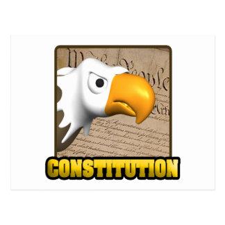 Konstitution Postkarte