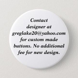 Kontakt-Designer für Knöpfe nach Maß Runder Button 7,6 Cm
