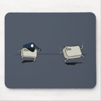 Kontrolle gegen Entweichen Mousepads