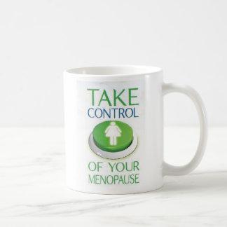 Kontrolle Kaffeetasse