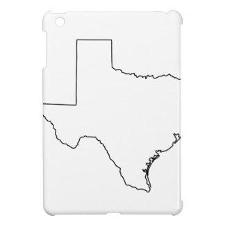 Kontur von Texas-Sammlung iPad Mini Hülle
