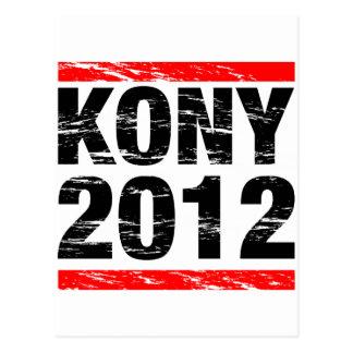 Kony Bewegung 2012 Postkarte