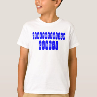Konzentrations-Champion T-Shirt