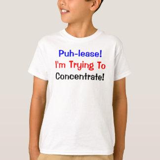 Konzentrations-Kartenspiel-rotes lila schwarzes T-Shirt