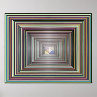Konzentrations-Meditations-Sichtbarmachung Posterdrucke