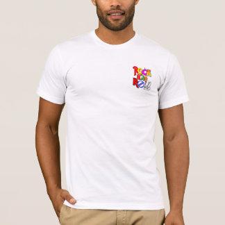 Konzert-Art-Entwurfs-Fronten-Tasche und Rückseite T-Shirt