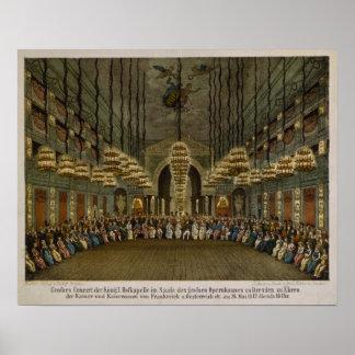 Konzert der königlichen Band im Auditorium Poster