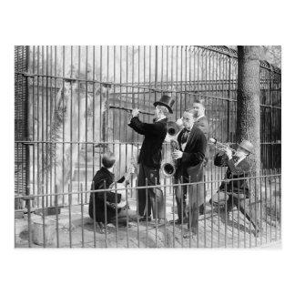 Konzert für Eisbären, 1925 Postkarte