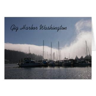 Konzert-Hafen Washington Karte