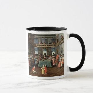 Konzert in einem privaten Haus Tasse