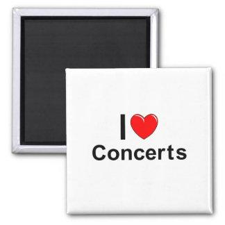 Konzerte Quadratischer Magnet