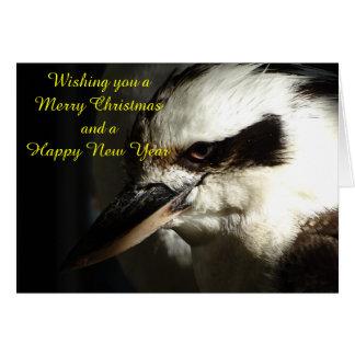 Kookaburra Weihnachtskarte Karte