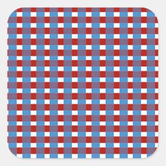 KOOLshades elegante Karos: Addieren Sie Bild des Quadratischer Aufkleber