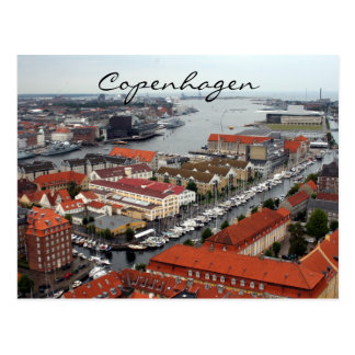 Kopenhagen-Ansicht Postkarte